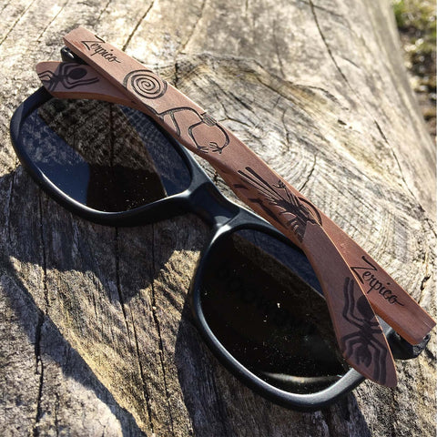 Eyewood Wayfarer  Spec. Ed. - Native - Exodus Longboard Co.