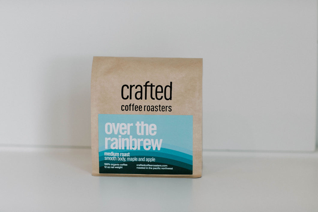 Crafted Coffee Roasters Over the rainbrew