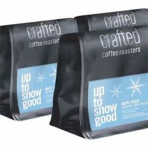Crafted Coffee Roasters Up to snow good-Dark roast