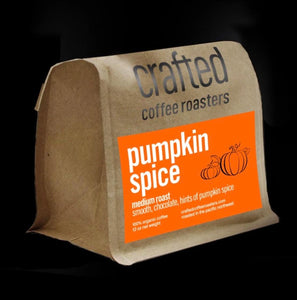 Crafted Coffee Roasters Pumpkin spice-Medium roast