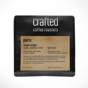 Crafted Coffee Roasters Single Origin-Peru