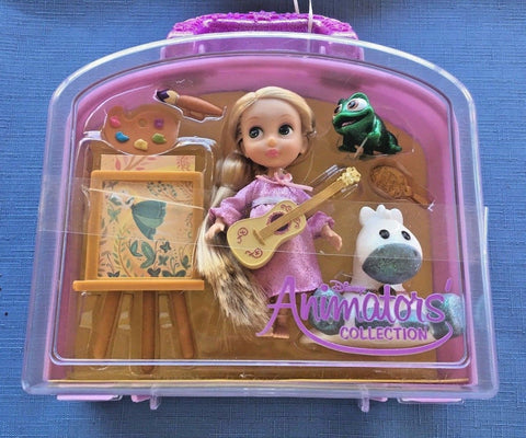 Disney Animator's Collection Rapunzel Mini Doll Playset