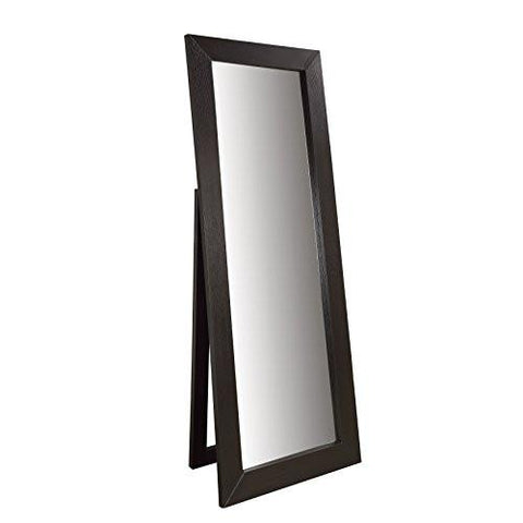 Image of Coaster 900453 Transitional Mirror, Cappuccino - zingydecor