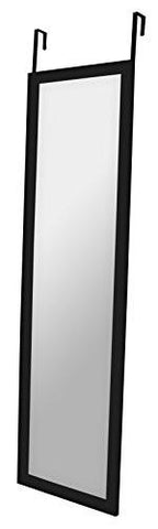 12 x 48-Inch Over The Door Mirror, Top Rated Full-Length Mirror, Over-the-Door Hardware Included