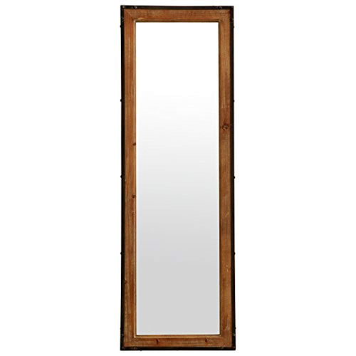 Stone & Beam Wood and Iron Mirror, 42.25