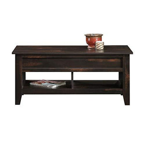 Sauder Dakota Pass Lift-Top Coffee Table, Craftsman Oak Finish - zingydecor