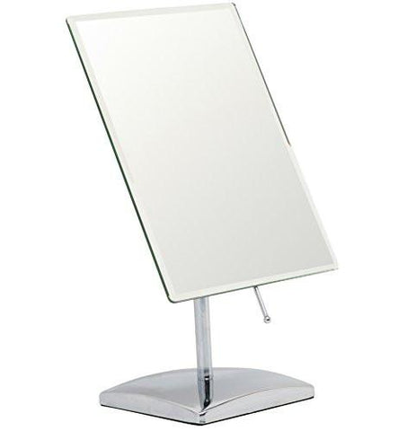 Image of Mirrorvana  Rectangular Glass Surface 9.8 inch x 7 inch Non- Magnifying Vanity Mirror