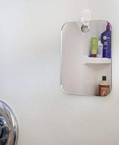 Image of Deluxe Shave Well Fog-free Shower Mirror - Made in the USA - 33% larger than the Original...