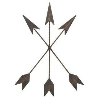 Cast Iron Native American Arrow Wall Decor - zingydecor