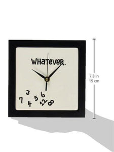 Whatever Wall Clock - zingydecor