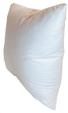 16x16 Inch Pillowflex Premium Polyester Filled Pillow Form Insert - Machine Washable - Square - Made In USA