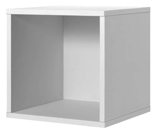 Foremost 327601 Modular Open Cube Storage System, 15.0 x 15.0 x 15.0-Inch, White - zingydecor