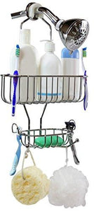 DecoBros Shower Caddy, Chrome