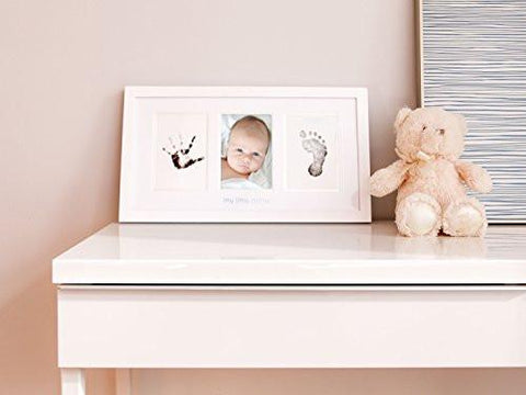 Pearhead Babyprints Newborn Baby Handprint And Footprint Photo Frame