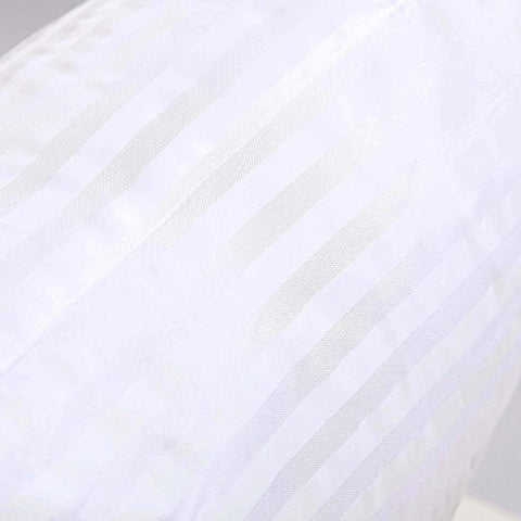 Image of FabricMCC Square Pillow Inserts 18x18, Poly White Sham Hypoallergenic Stuffer Pillow Insert Sham