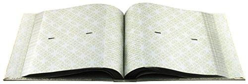 Mbi Embossed Gardenia Pearl 4-Inch-by-6-Inch Photo Album-Holds 2-Up Photos, 200 Capacity