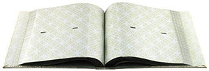 Mbi Embossed Gardenia Pearl 4-Inch-by-6-Inch Photo Album-Holds 2-Up Photos, 200 Capacity - zingydecor