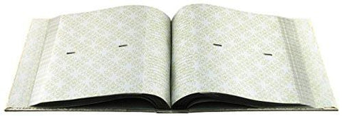 Image of Mbi Embossed Gardenia Pearl 4-Inch-by-6-Inch Photo Album-Holds 2-Up Photos, 200 Capacity