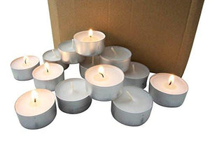 Stonebriar Tealight Candles, 6 to 7 Hour Extended Burn Time,(Pack of 200) - zingydecor