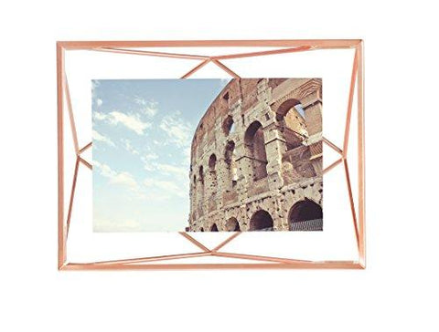 Image of Umbra Prisma Picture Frame, 4 by 6-Inch, Copper