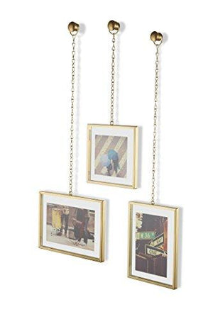 Umbra Fotochain, Multi Picture Frames for the Wall, Brass
