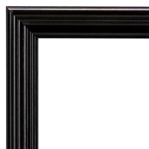 MCS Ten Piece Multi Pack Picture Frame Value Set - Black Stain