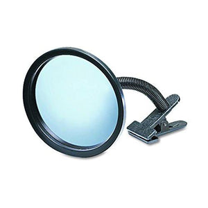 "See All ICU7 Personal Safety and Security Clip-On Convex Security Mirror, 7"" Diameter (Pack of 1) - zingydecor"