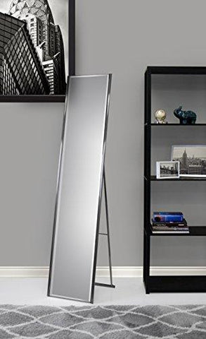 Image of Adesso WK2444-22 Alice Floor Mirror – Powder Coated Champagne Full Length Mirror with Steel Finishing. Home Decor Accessories - zingydecor