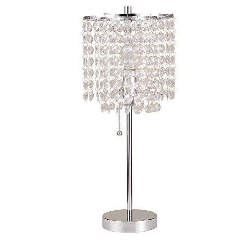 Ore International 8315C Deco Glam Table Lamp, 20.25