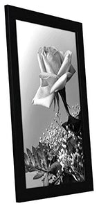 12x18 Black Picture Frame with Plexiglas Front By Americanflat - Designed to Display Vertically or Horizontally on a Wall - Mounting Hardware Included - zingydecor