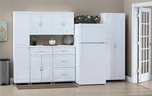 "Load image into Gallery viewer, SystemBuild Kendall 16"" Storage Cabinet, White Stipple - zingydecor"