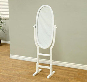 Frenchi Home Furnishing Kid's Mirror Stand, White - zingydecor