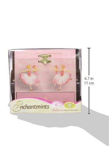 Enchantmints Ballerina Musical Jewelry Box zingydecor