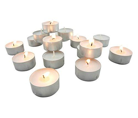 Stonebriar Tealight Candles, 6 to 7 Hour Extended Burn Time,(Pack of 200)