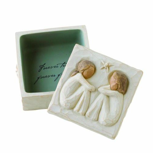 Willow Tree Friendship Keepsake Box - zingydecor