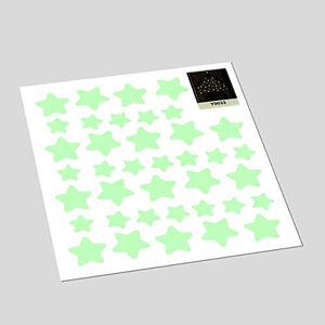 MAFOX Glow in the Dark Wall or Ceiling Stars with Moon Stickers – Luminous Decal Stickers for Simulated... - zingydecor