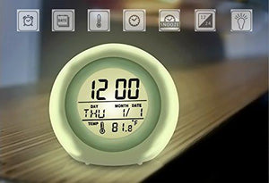 Alarm Clock, Awakelion Wake Up Light Clock Premium Digital Display Model for Adults, Kids & Teens
