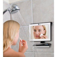 Load image into Gallery viewer, Fogless Shower Mirror with Squeegee by ToiletTree Products. Guaranteed Not to Fog, Designed Not to Fall. (Silver)