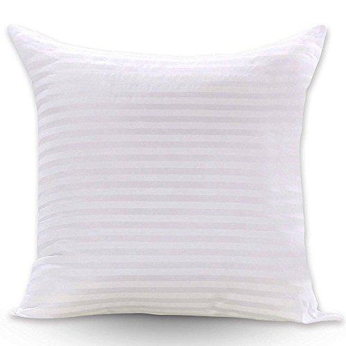 FabricMCC Square Pillow Inserts 16x16, Poly White Sham Hypoallergenic Stuffer Throw Pillow Insert Sham - zingydecor