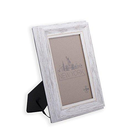 8x10 Picture Frame White / Gold - Mount / Desktop Display, Frames by ...