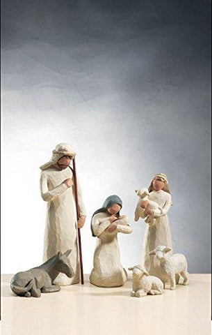Image of Willow Tree Nativity Set