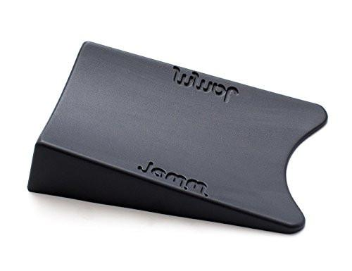 Top Rated Jamm Doorstop. Outperforms other Door Stops and Decorative Door Wedges. Patented Design Holds Doors in BOTH Directions. Premium Non Rubber Hardware Door Stopper - Dark Grey 1-Pk (Size 1)