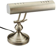 Load image into Gallery viewer, Boston Harbor ATB-8004 Piano Desk Lamp, Satin Nickel - zingydecor