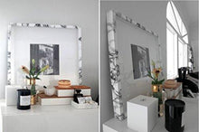 "Load image into Gallery viewer, VViViD XPO White Grey Marble Gloss Vinyl Film Contact Paper 15.9"" x 6.5ft Roll (1 roll) - zingydecor"