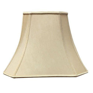 Royal Designs Wide Pleat Empire Designer Lamp Shade, Antique Gold, (6.25 x 8) x (11 x 16) x 12 (DDS-68-16AGL) - zingydecor