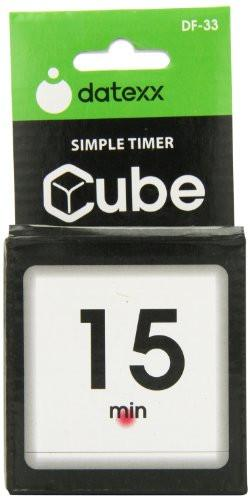 The Miracle Cube Timer, 5, 15, 30 and 60 Minutes, for Time Management,  Kitchen Timer, Kids Timer, Workout