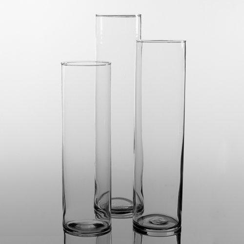 Eastland Tall Cylinder Vases Set of 3 - zingydecor