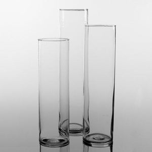 Eastland Tall Cylinder Vases Set of 3