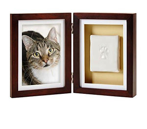 Pearhead Dog or Cat Paw Print Pet Keepsake Photo Frame