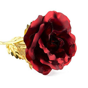 UniteStone Gifts for Women for Whom you loved Pretty Red Rose as Gifts For Her Nice Gifts For Girls Unique Gift for Mom